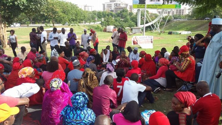 #BringBackOurGirls sit-out. 1st May 2014
