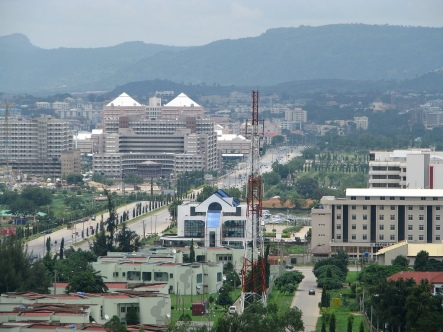 A Section of the Abuja Central Business District. Photo credit: Nairaland.com