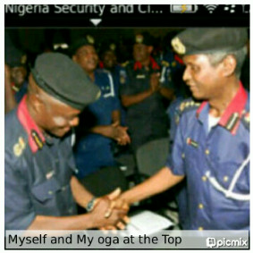 My Oga at the top 8