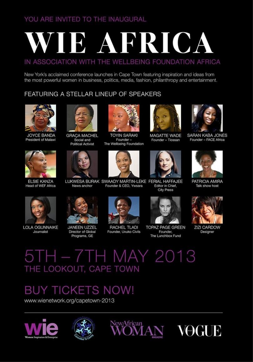 WIE Africa EVite-March