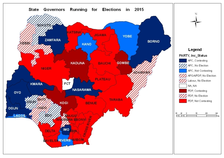 State governorship elections